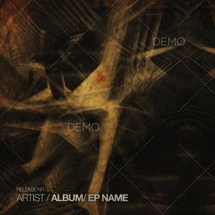 Dark techno cover design for sale (1) – service for producers