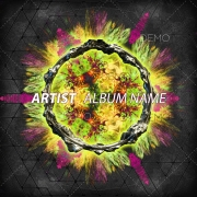 Psytrance cover design for sale, psytrance artwork for album