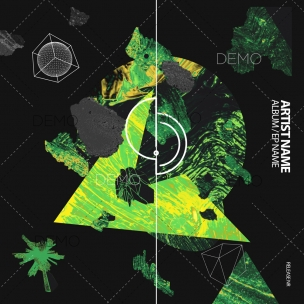 Modern techno cover art design for sale (1) – service for producers