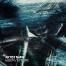 Dark techno cover design for producer