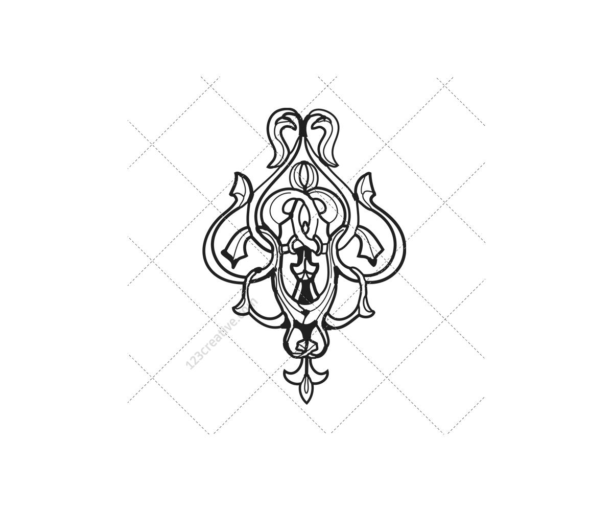 Vectors - Ornamental Floral Frames 48 Fulllinks Your End Place