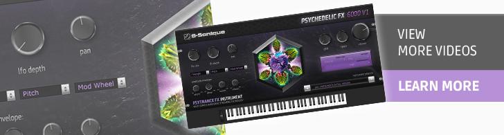 Psychedelic FX6000 V1 - Psytrance FX instrument plug-in