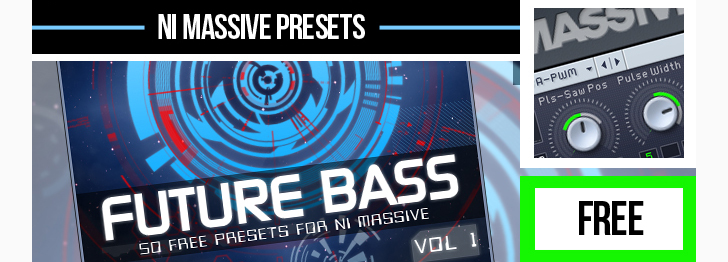 123creative.com Download FREE Future Bass Vol.1 presets for NI Massive