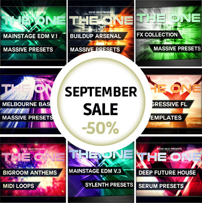 123creative September sale: Presets, Samples, FL studio templates