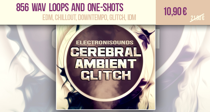 Buy WAV loops and one-shots Cerebral Ambient Glitch Sample pack