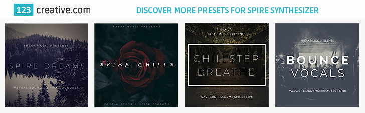 Discover more presets for Reveal Sound Spire synthesizer