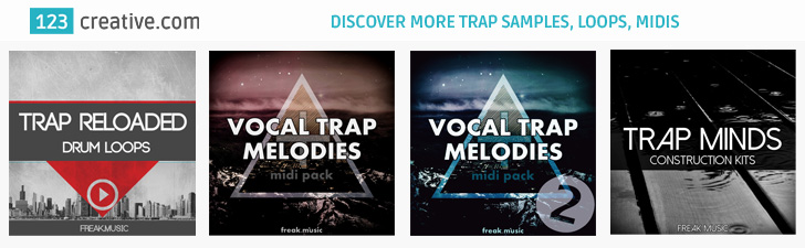 123creative.com Discover more Trap Samples, Loops, Midis, Construction Kits