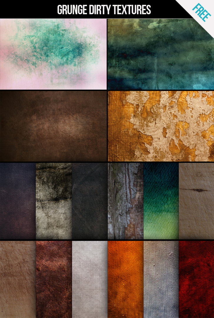 Download Free Grunge dirty textures for commercial and personal use