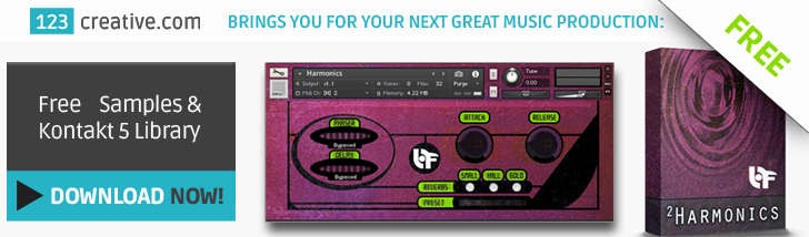 Download FREE Samples & Kontakt 5 Library - Harmonics. Electronic, Fusion, Cinematic music production
