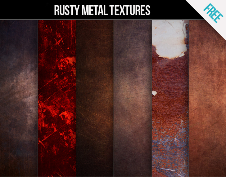 Download Free Rusty metal textures for commercial and personal use