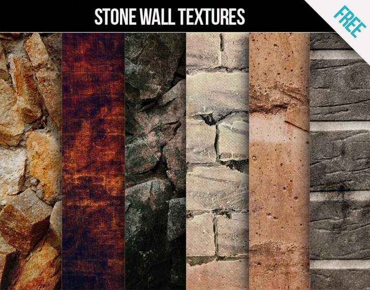 Download Free Stone wall textures for commercial and personal use