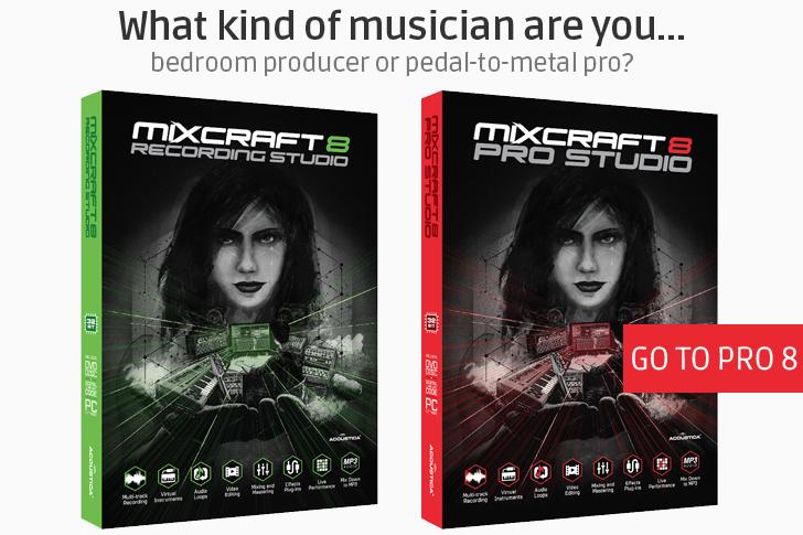 Mixcraft Pro Studio 8 - Complete Music Production DAW
