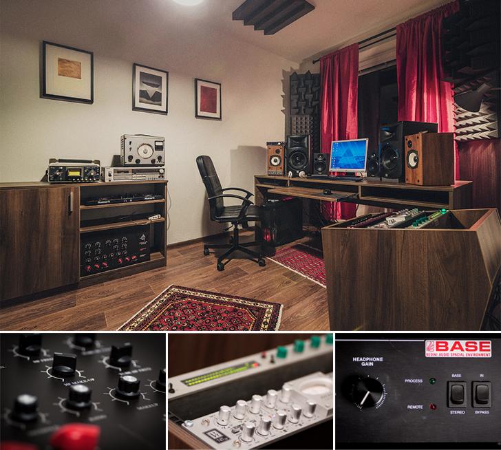 Marian Brezovan Online mastering studio equipment
