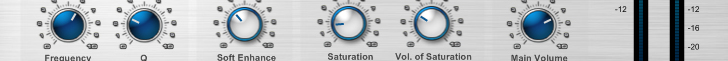 XBass 4000L - bass saturation effect -  VST effect plug-in designed to facilitate the maximization the bass frequencies